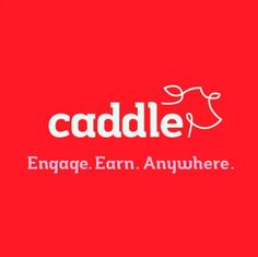 Caddle giveaway  http://ottawamommyclub.ca/engage-and-earn-online-with-caddle/comment-page-1/#comment-1077492  CaddleLogo_OnRed_wSlogan post