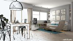 ¿Qué hay detrás de un proyecto de interiorismo? #diseño #proyectos #3D #homedecor http://blgs.co/9Md5BT