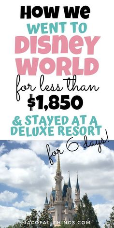 Wondering how to save money on your vacation to Disney World? Learn how you can get the best deal for Disney and save bi. Disney On A Budget, Disney World Vacation Planning, Walt Disney World Vacations, Disney Planning, Vacation Travel, Disney Travel, Disney World Weddings, Vacation Spots, Cheap Disney Vacation
