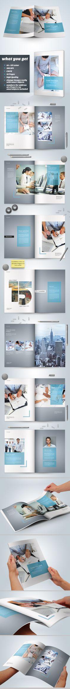 Business Brochure Vol. 04 by Danijel Mokic, via Behance