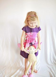 Maggie Mae dress pattern. Dress made by Dagbjört