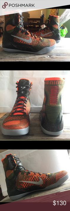nike kobe 9 ix elite strategy sequoia basketball nike kobe 9 ix elite strategy sequoia basketball