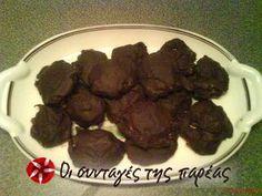 Σοκολατάκια μανταρίνι #sintagespareas