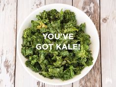 My family loves kale chips. We love leafy greens in general, but it is amazing what a transformation kale undergoes when heated at low temperature in the oven. My kids… Paleo Kale Recipes, Kale Chip Recipes, Candida Diet Recipes, Paleo Food, Low Carb Vegetables, Veggies, Roasted Vegetables, Cranberry Recipes, Cranberry Muffins