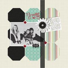 Memories - Enchanted #Digital #Scrapbooking Layout from Creative Memories    http://www.creativememories.com