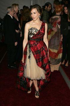 Sarah Jessica Parker in Alexander McQueen, 2006 at the MET Gala