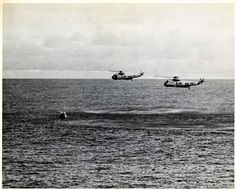 Apollo 13 Flight, Recovery; Sikorsky (S-61B) SH-3D Sea King. [photograph]   National Air and Space Museum