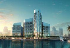 Dubai Waterfront, New York Skyline, Luxury, City, Building, Travel, Viajes, Buildings, Cities