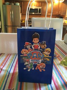 Paw patrol favor per order by RowdyBoysDesigns on Etsy Po Patrol, Paw Patrol Party, Paw Patrol Birthday, 2nd Birthday Parties, Boy Birthday, Paw Patrol Decorations, Cumple Paw Patrol, Minion Party, Turtle Party