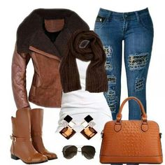 Love love love this fall outfit!