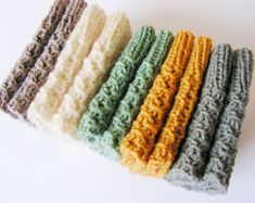 Knitted  Boot Cuffs - Leg Warmers - Boot Toppers - Ivory Green  Grey Oatmeal Red Black Knit Boot Cuffs