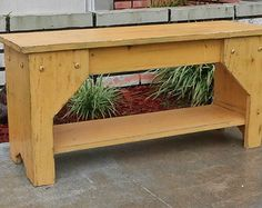 Rustic Indoor Bench Farmhouse Funiture Country by TheSavvyShopper1
