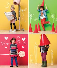cotton on kids - love colourful boys clothes! So over boring blues for boys.