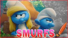 Smurfette Pretends To Be Grouchy