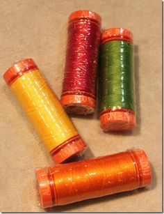 Thread an quilt appliquer uses