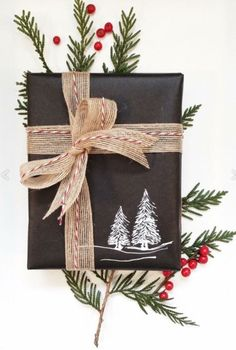 Santa wrapping idea
