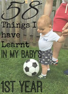 Things I have learnt in my baby first year
