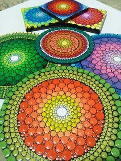 Natalia Richetti #mandalas #coloridos #puntillismo #dot #dotillism #art…