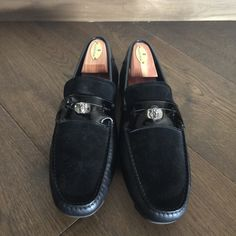 1d378f4db29 Versace Loafers Size 10  196 - Grailed