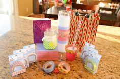 Dollar Tree Decorative Tape Ideas - washi tape at the dollar store!!