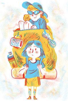 Camp Mom - Drew Shannon Illustration
