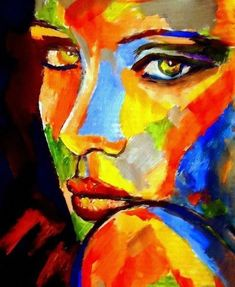 Abstract Photography – Buy Abstract Art Right Abstract Portrait, Abstract Wall Art, Portrait Art, Tableau Pop Art, Renaissance Paintings, Arte Pop, Pastel Art, Female Art, Painting & Drawing