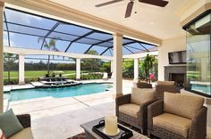 1000 images about pool lanai on pinterest pool for Enclosed lanai design ideas