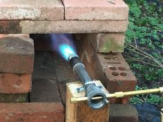 How to Build a Gas Forge Burner: 9 Steps (with Pictures) Forge Burner, Gas Forge, Propane Forge, Blacksmith Forge, Metal Tools, Metal Art, Build A Forge, Mini Forge, Power Hammer