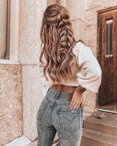 33 wedding hairstyles with flowers- 33 Hochzeitsfrisuren mit Blumen Cute hairstyles – – Hair … # … - Sweet Hairstyles, Long Hair Hairstyles, Medieval Hairstyles, Cute Braided Hairstyles, Asian Hairstyles, Stylish Hairstyles, Teenage Hairstyles, Bohemian Hairstyles, Spring Hairstyles