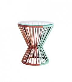 #awesome side table! #furniturehunters The 31 Best New Spring Décor Items via @domainehome
