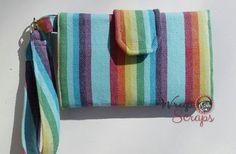 Woven Wrap Scrap Wallet  Custom Wallet Slot by WrapandScraps