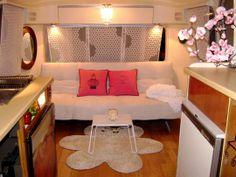 Airstream trailer decor