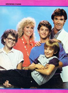 """Jeremy Miller and cast of """"Growing Pains"""""""