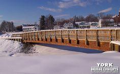 Timber Trail Bridge: Corinna Snow Trail - Corinna, ME