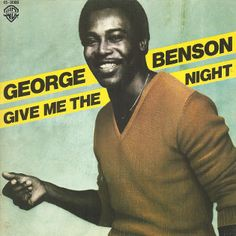 "George Benson Give the night single vinilo 7"" 45 rpm vinyl single. Mercado de la Tía Ni, Sabarís, Baiona."