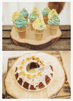 decorative baked treats