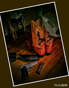 My Boots and 9