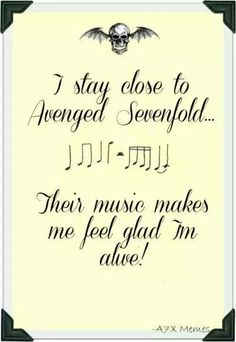 Clever Quotes, Funny Quotes, Life Quotes, Song Quotes, Avenged Sevenfold Quotes, Music Is Life, My Music, Jimmy The Rev, Zacky Vengeance