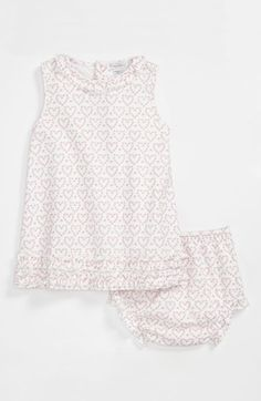 Kissy Kissy Sleeveless Dress & Bloomers (Baby) available at #Nordstrom