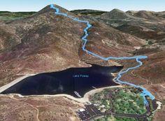 Potato Chip Rock Elevation Map