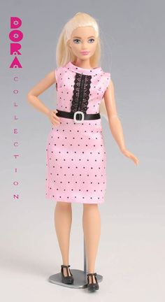 Barbie clothes for curvy barbie Handmade barbie by DoraCollection
