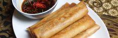 Loempia oedang dan ajam - Kokkie Slomo - Indische recepten
