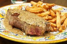 Bastille Day Special: Steak au poivre (Peppercorn Steak) | Memorie di Angelina