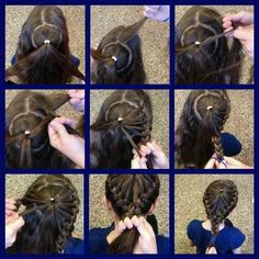 Kids hairstyles, pretty sweet braid!