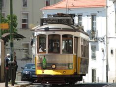 Lisboa alfama Tram 28