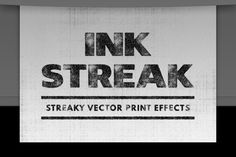 Ink Streak – Illustrator Actions by Sivioco on Creative Market