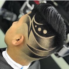 🎄{Fade/ Angle}🎄    Cut by  Mode Young Mens Hairstyles, Popular Mens Hairstyles, Hairstyles Haircuts, Haircuts For Men, Hair Designs For Boys, Haircut Designs For Men, Hair Styles 2016, Short Hair Styles, Undercut Hair Designs