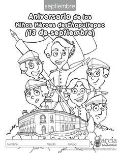 Dibujos De Los Ninos Heroes Wwwimagenesmycom