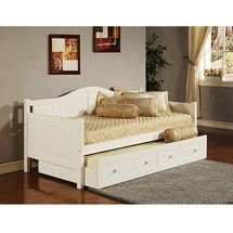 Walmart: Staci Daybed with Trundle, White