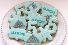IMG_2769 | Frozen inspired cookies by Miss Biscuit | Miss Biscuit | Flickr